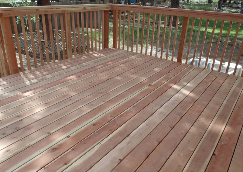 Trex Decks for the Flagstaff Area